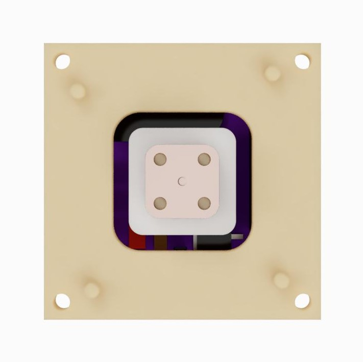 AIS-gPPT3 Series Concept Propulsion Module with Adapter Mounting Plate - Front