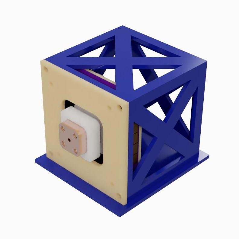 Full PocketQube Assembly Concept - Isometric