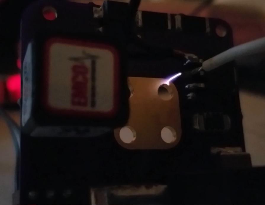 AIS-gPPT3-1C Propulsion Module Electronics Board Atmospheric Igniter Testing