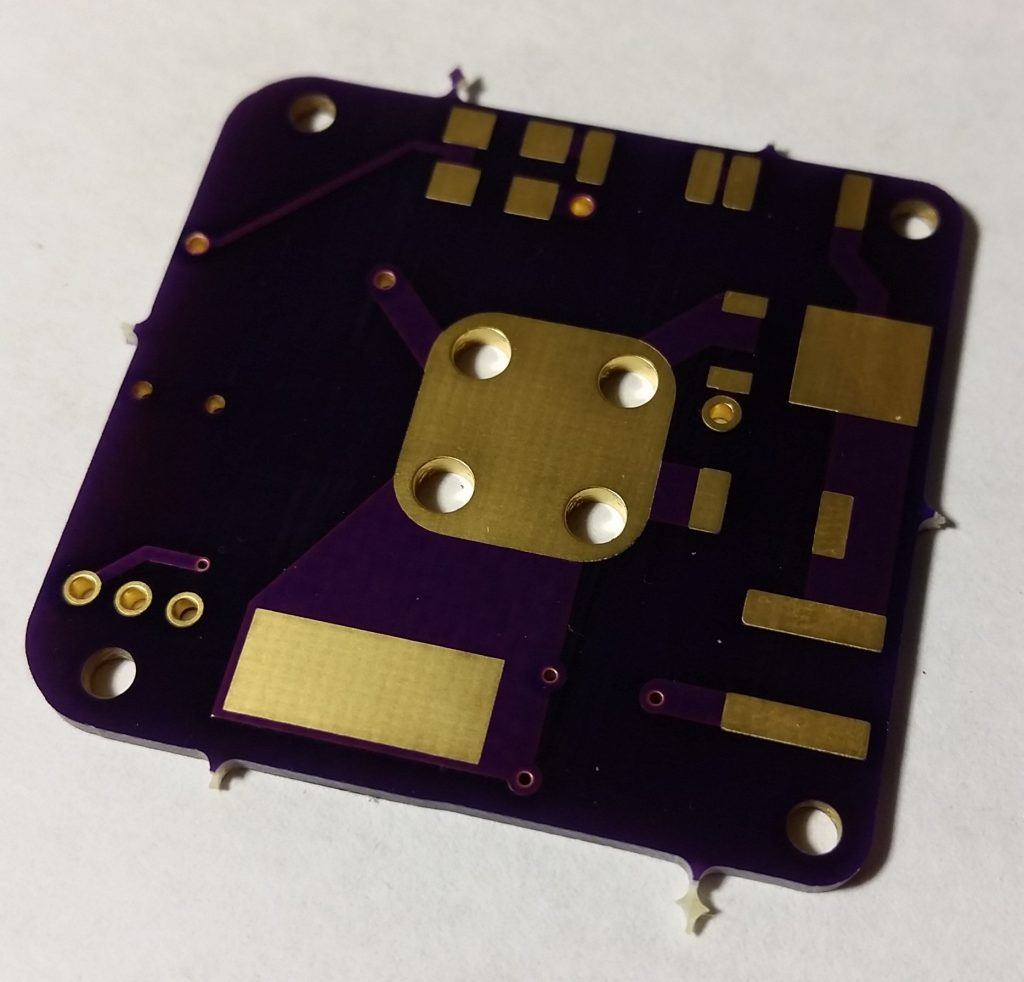 AIS-gPPT3-1C Propulsion Module Electronics Board - Front