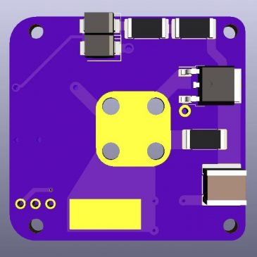 Final V1 Design of the AIS-gPPT3-1C Series Integrated Propulsion Module