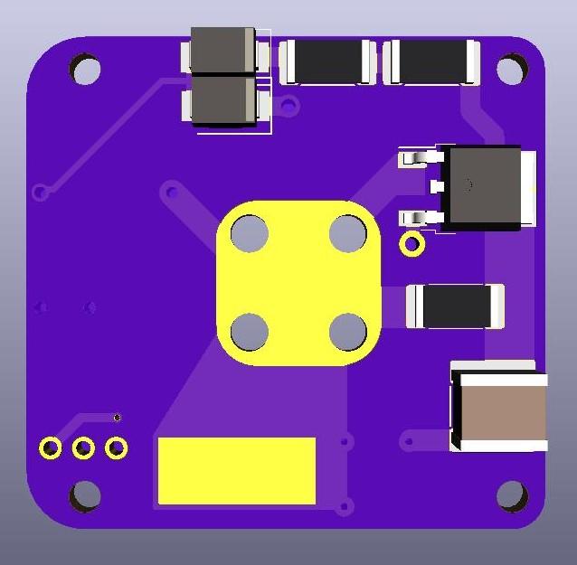 AIS-gPPT3-1C Series Propulsion Module 1P Board V1 - Front