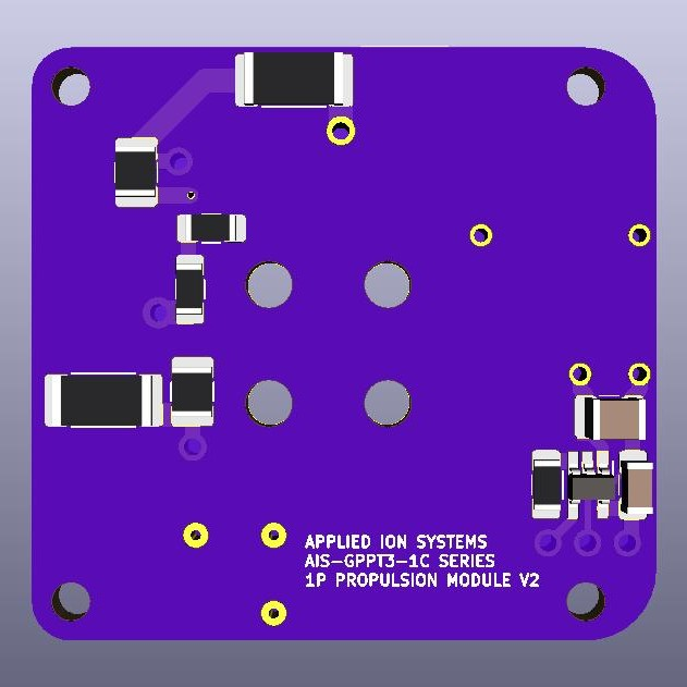 AIS-gPPT3-1C Series Propulsion Module 1P Board V2 - Back