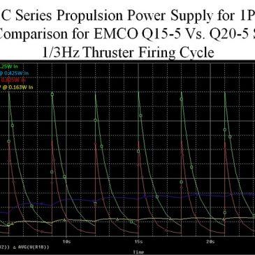 Circuit Analysis Comparison for the AIS-gPPT3-1C Series Propulsion Module