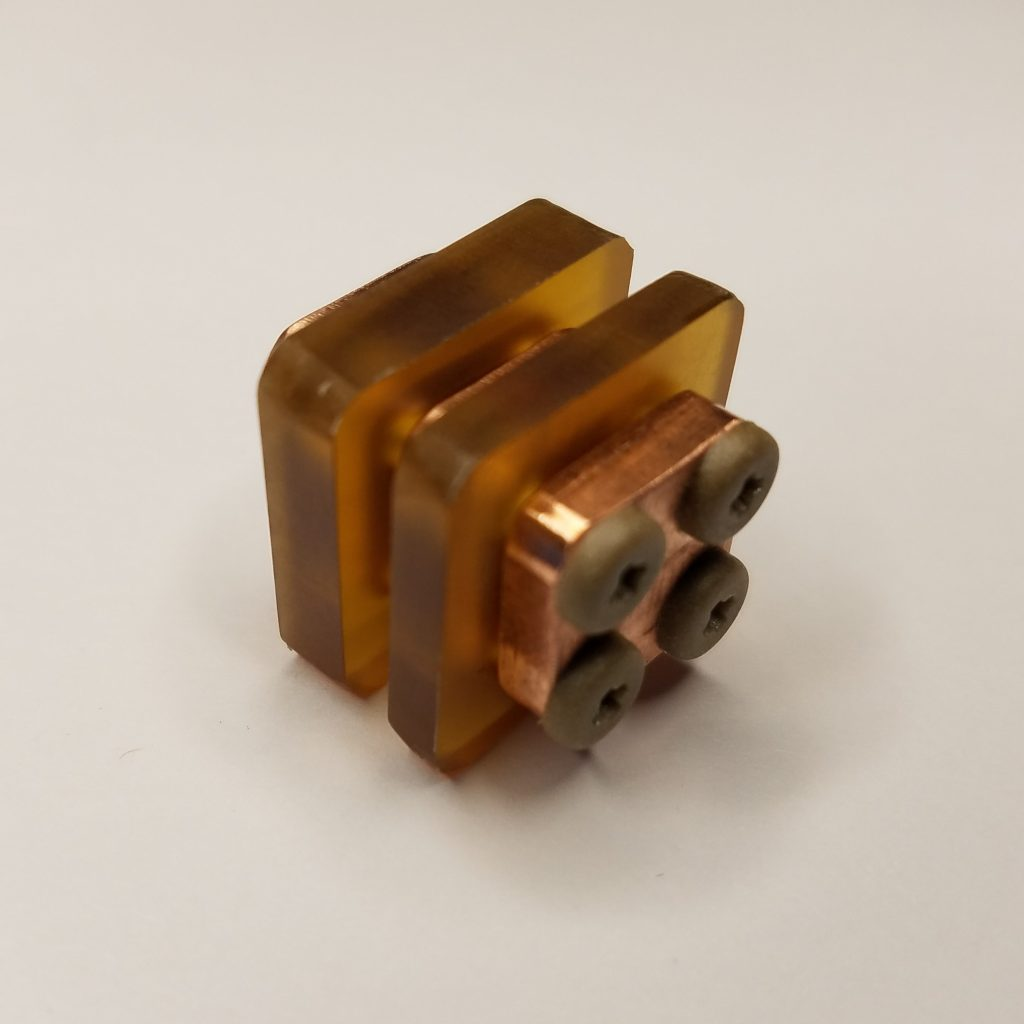 AIS-gPPT3-1C-U Series Pulsed Plasma Thruster Set - Ultem Fuel Back