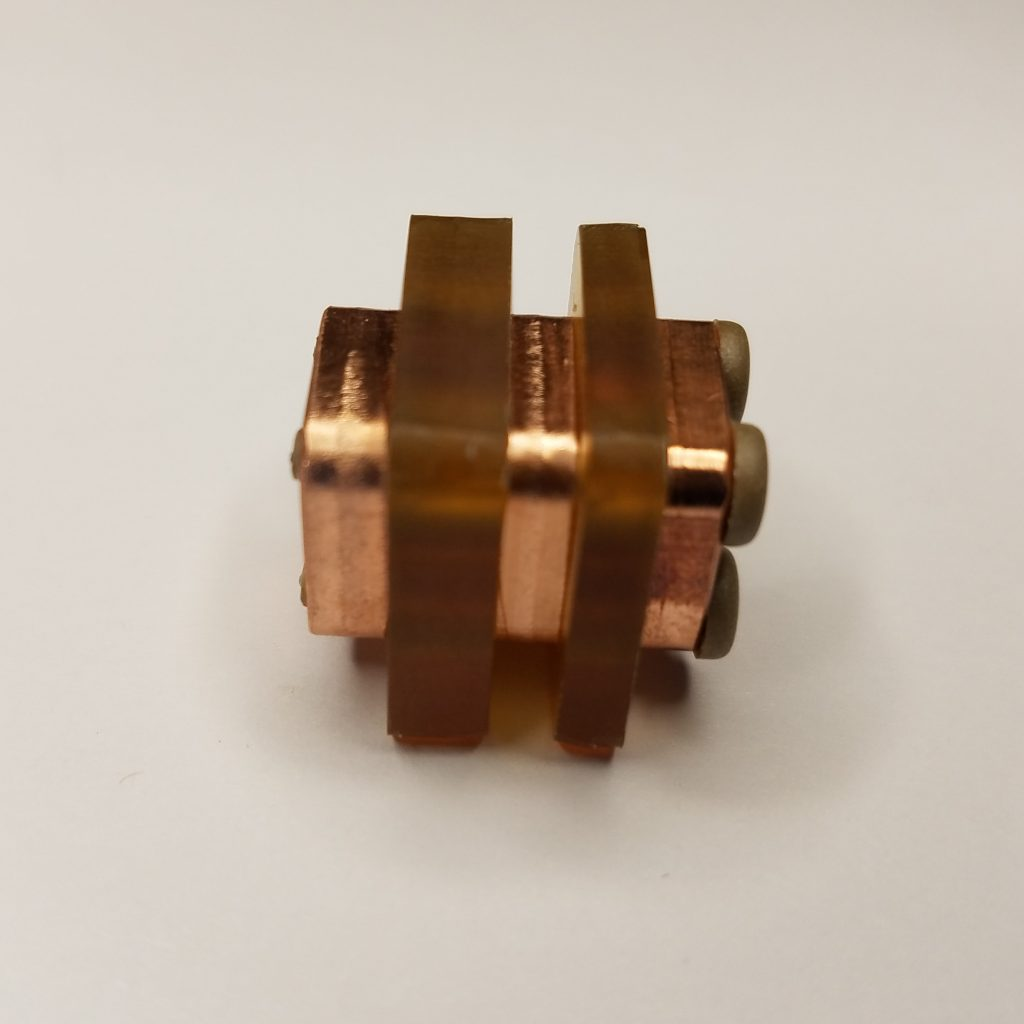 AIS-gPPT3-1C-U Series Pulsed Plasma Thruster Set - Ultem Fuel Side
