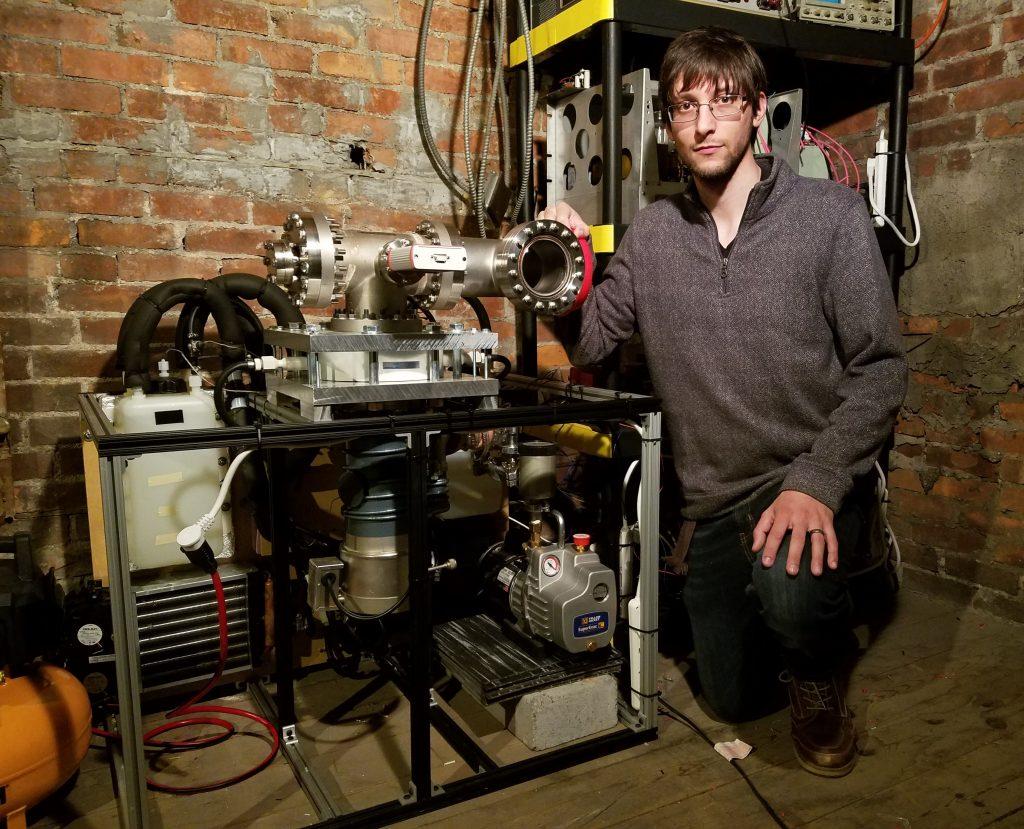 Michael Bretti - High Vacuum Propulsion Testing Chamber