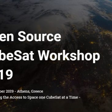 Sponsored Presentation at the 2019 Open Source CubeSat Workshop (OSCW)!