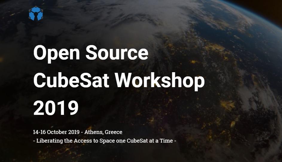 OSCW Open Source CubeSat Workshop 2019