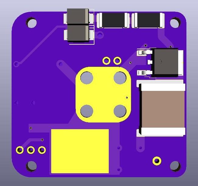 AIS-gPPT3-1C Series Propulsion Module 1P Board V3 - Front