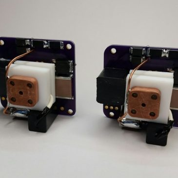 First Two Flight Module Thrusters for the Fossa Systems Collaboration!