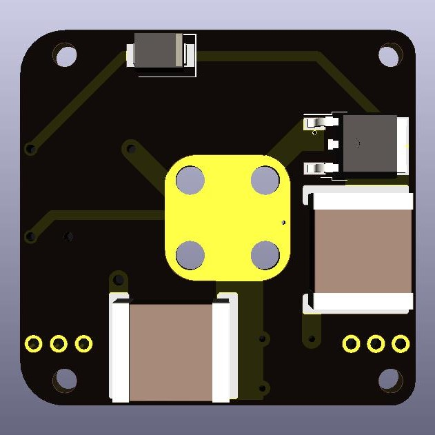 AIS-gPPT3-1C Series Propulsion Module V4 Board - Front