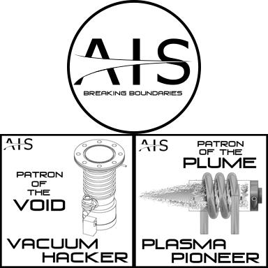 AIS Breaking Boundaries, Vacuum Hacker, and Plasma Pioneer Patron Tiers