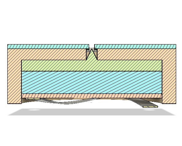 AIS-ILIS1 Thruster Stack Cross Section