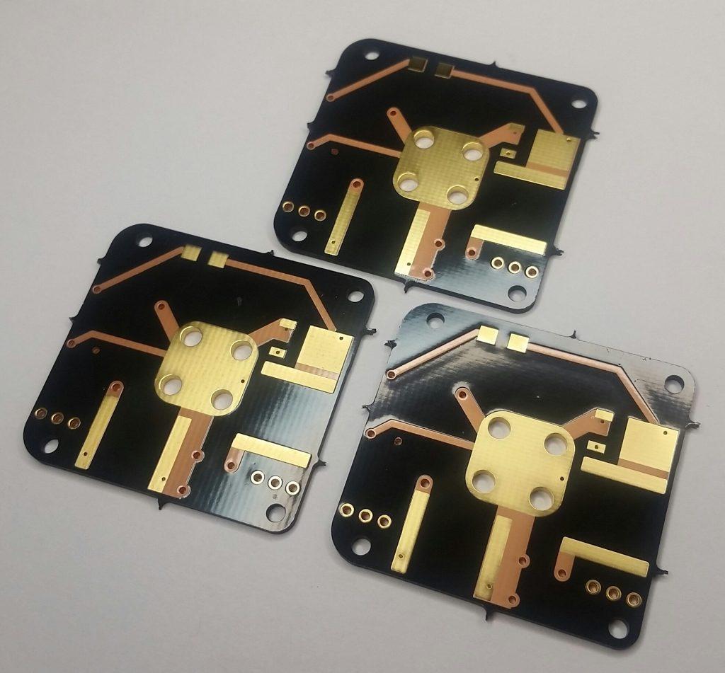 AIS-gPPT3-1C V4 Propulsion Module Electronics Board Set - Front