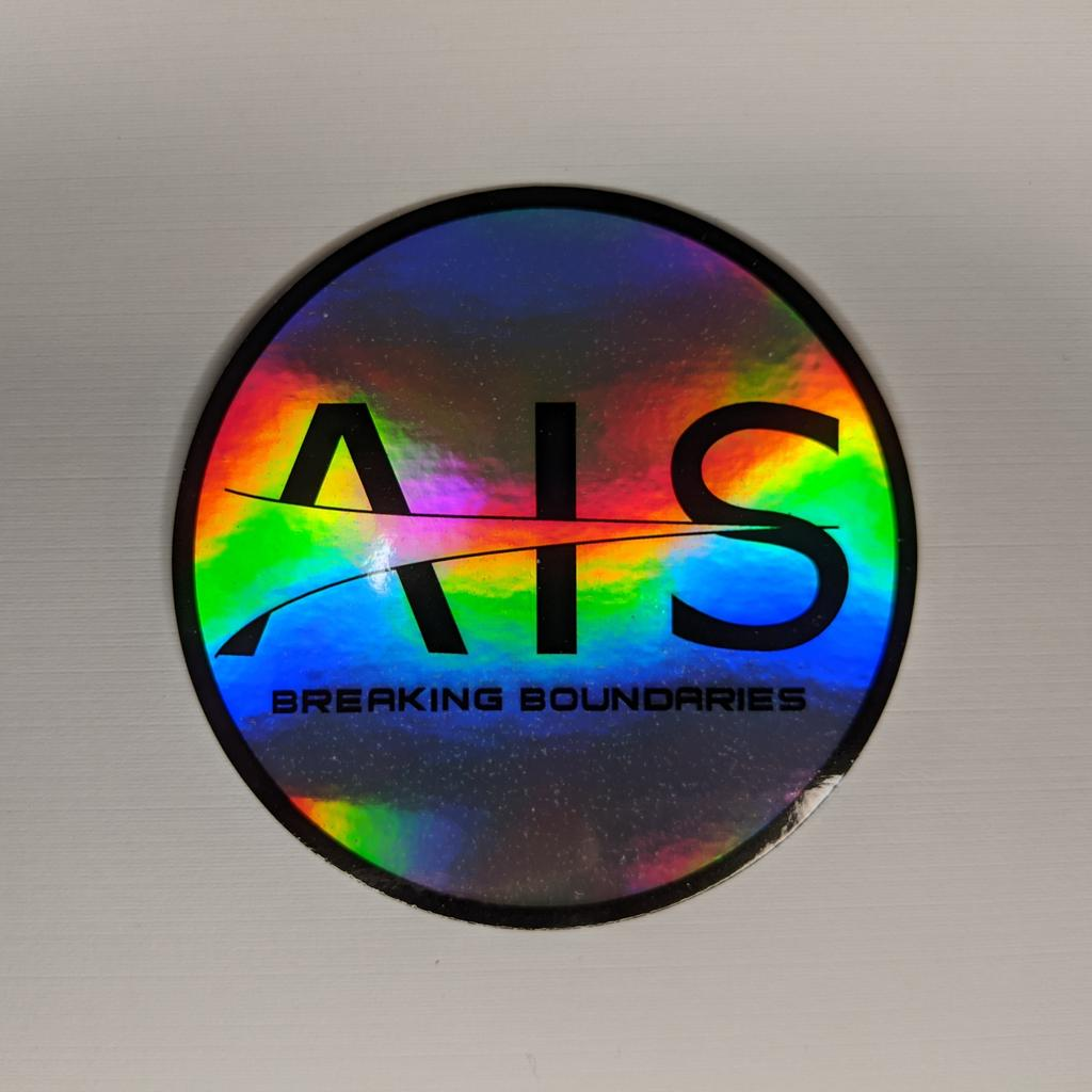 AIS Holographic Sticker 1