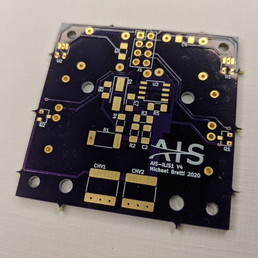 AIS-ILIS1 V4 PCB Back