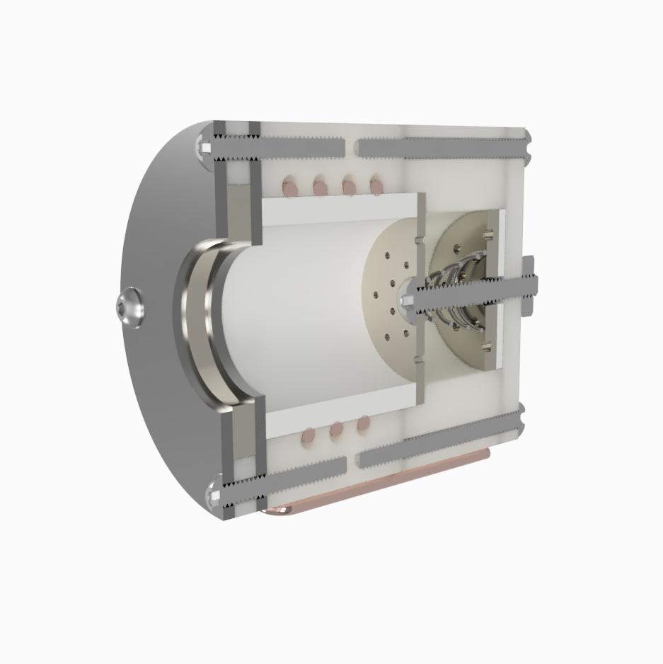 AIS-Io Series RF Plasma Thruster Concept Design Assembly Cross Section