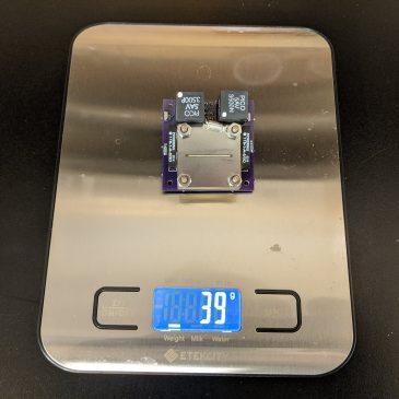Dry Mass Measurement of the AIS-ILIS1