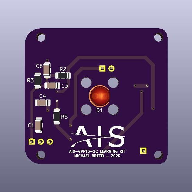AIS-gPPT3-1C Learning Kit Front