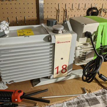 Failed Rebuild of the Edwards E2M18 Vacuum Pump