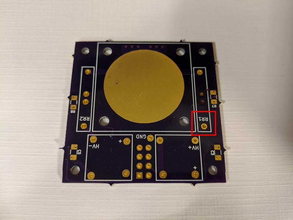AIS-ILIS1 Board Ionization Point 1 - Front PCB