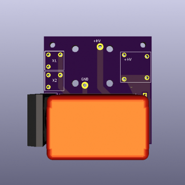 V1 PCB Design for the AIS-ePPT1 Pulsed Plasma Thruster Are Complete