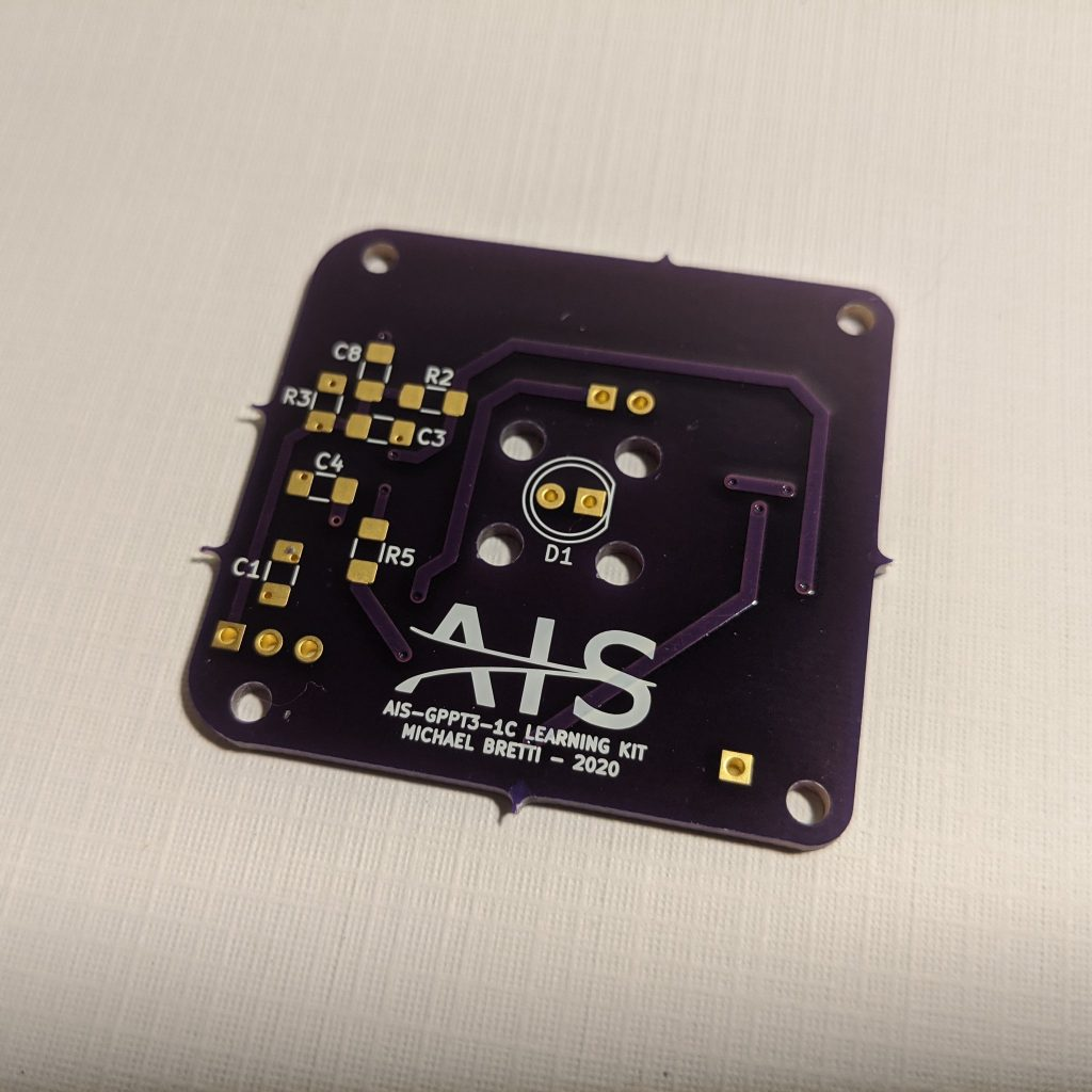 AIS-gPPT3-1C Learning Kit PCB Front