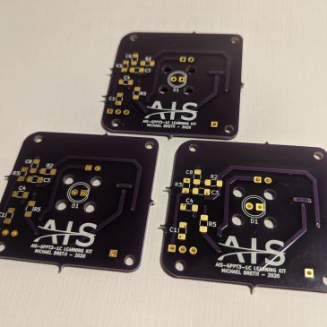 Prototype PCBs for AIS-gPPT3-1C Thruster Learning Kit