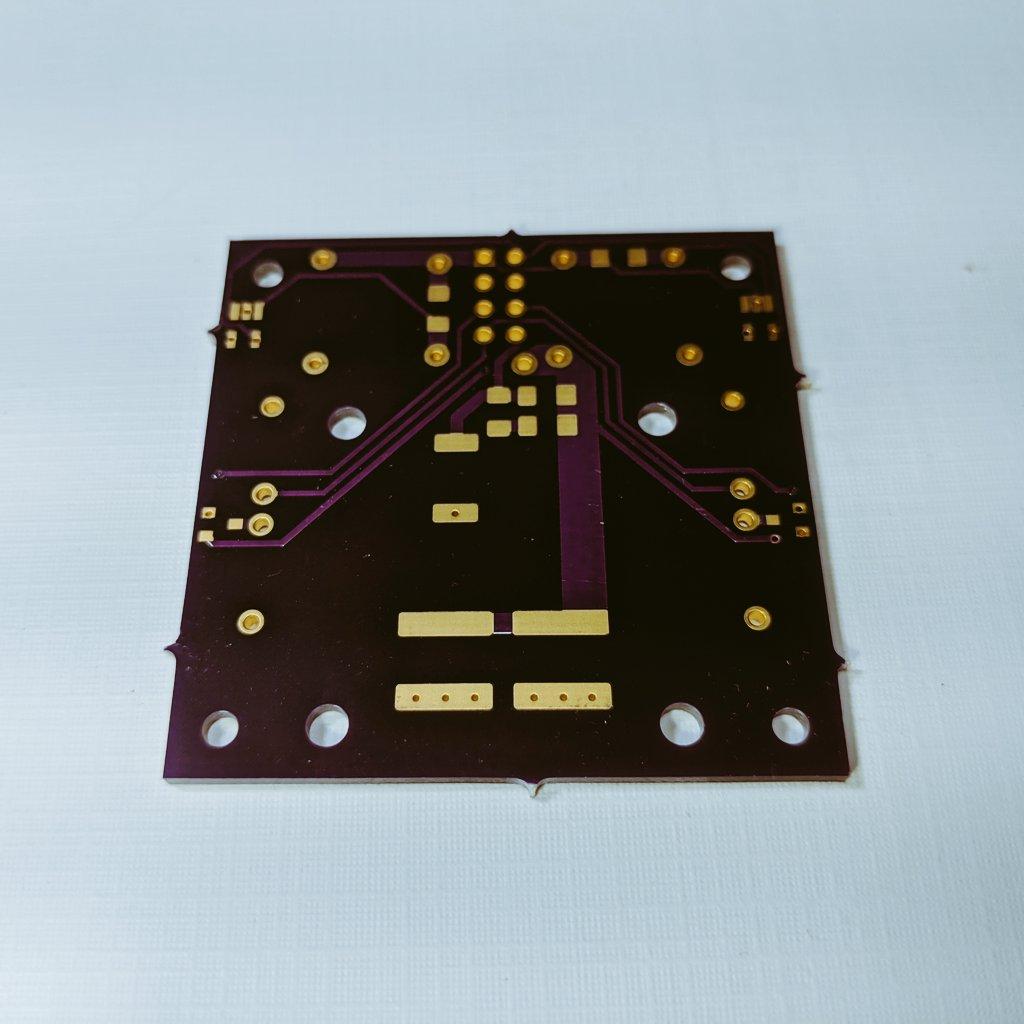 AIS-ILIS1 Electrospray Thruster V5 PCB Bottom