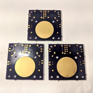 New V6 PCBs for the AIS-ILIS1 Ionic Liquid Electrospray Thruster