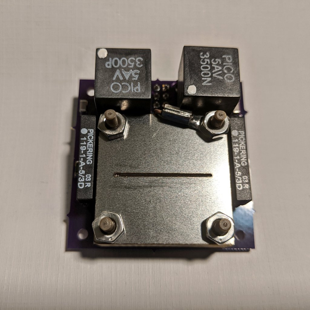 AIS-ILIS1 Ionic Liquid Electrospray Thruster V5 Assembly