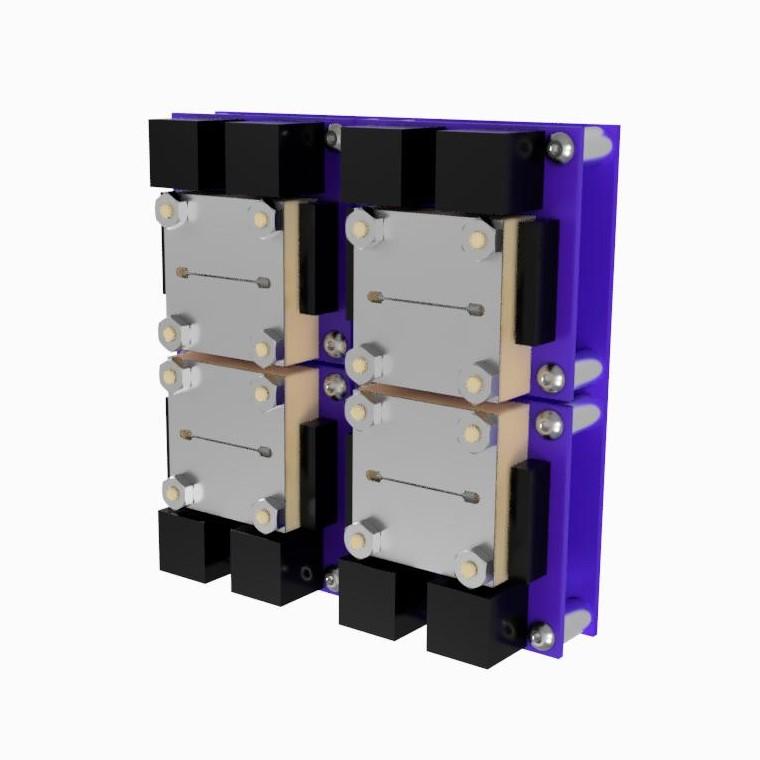 AIS-ILIS1 Ionic Liquid Electrospray V6 Cluster for Cubesats - Concept Design