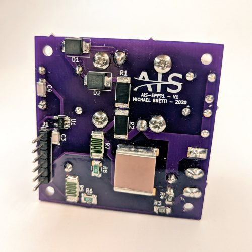 AIS-ePPT1 Micro Pulsed Plasma Thruster V1 Assembly - Back