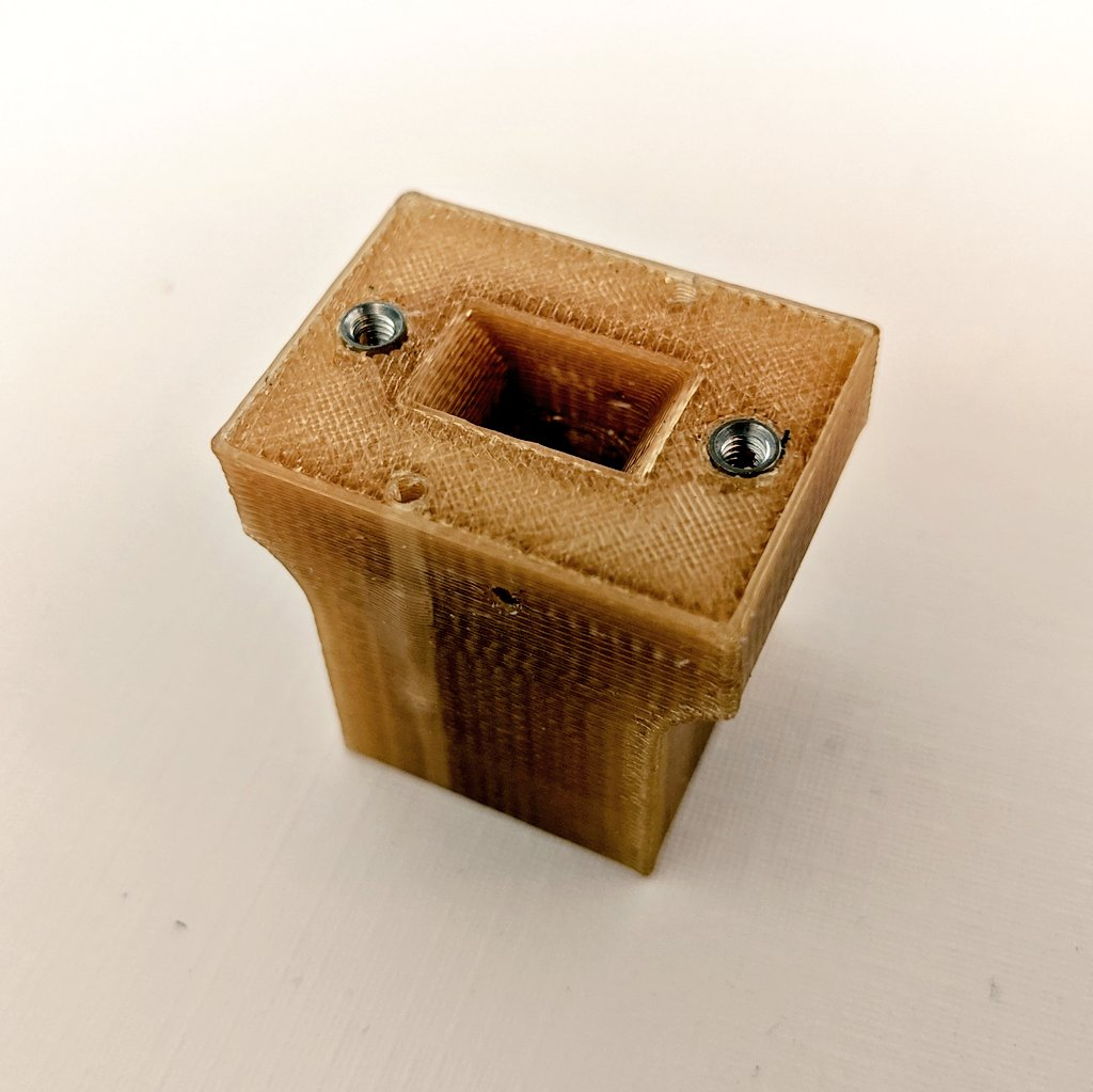 AIS-ePPT1 Pulsed Plasma Thruster Ultem 3D Printed Case for Version A with Inserts