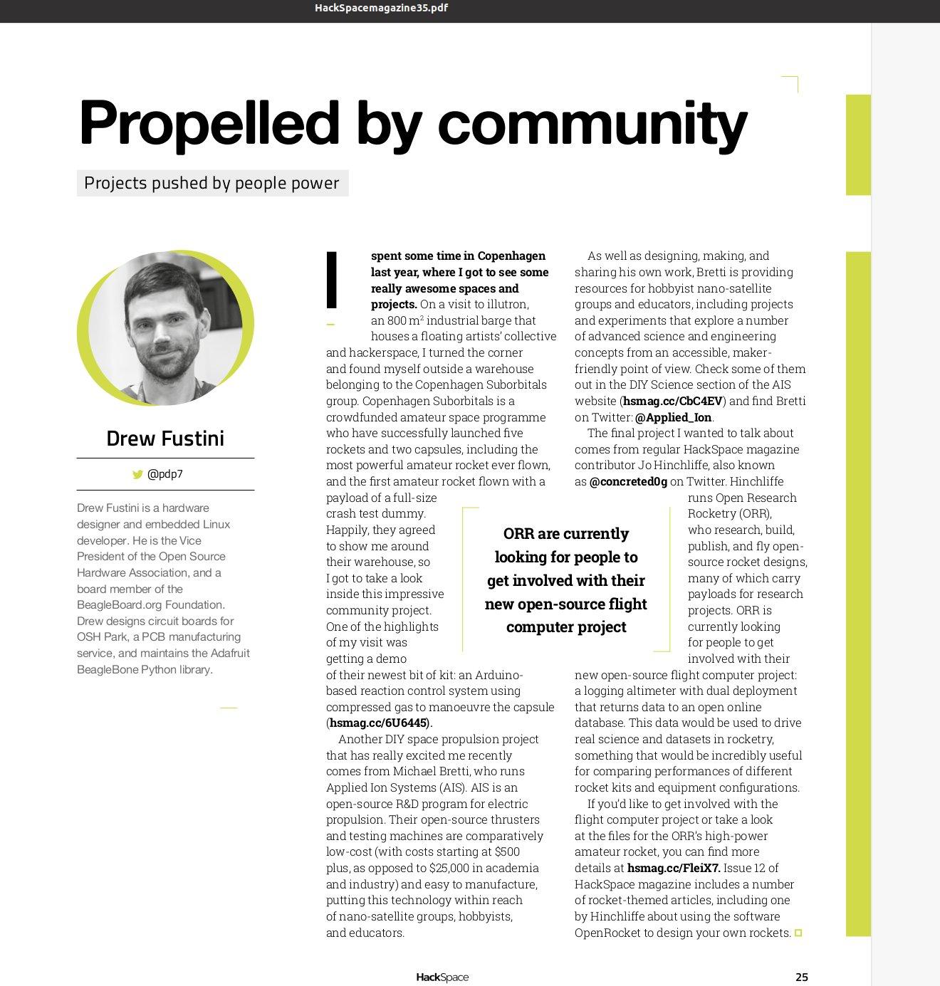 Hackspace Magazine Issue 35