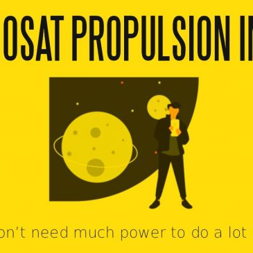 Deep-Dive Interview with Sovereign Moon Studios Part 3 – Nanosat Propulsion in LEO