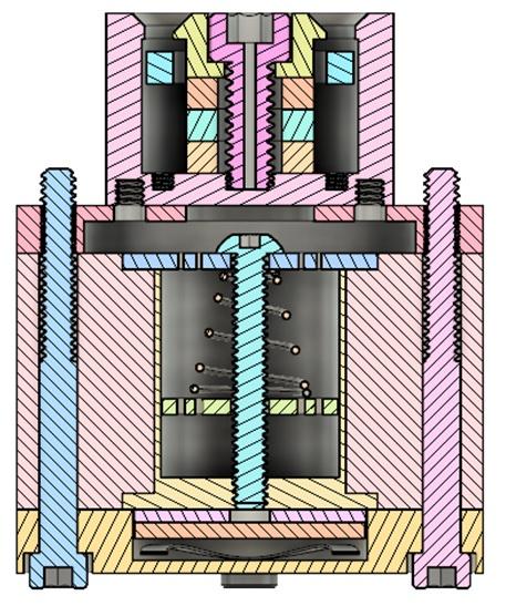 AIS-ADAMANT Anode Layer Ion Thruster Conceptual Design Cross Section