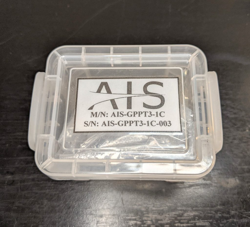 AIS-gPPT3-1C-003 Micro Pulsed Plasma Thruster Packaged for Shipping