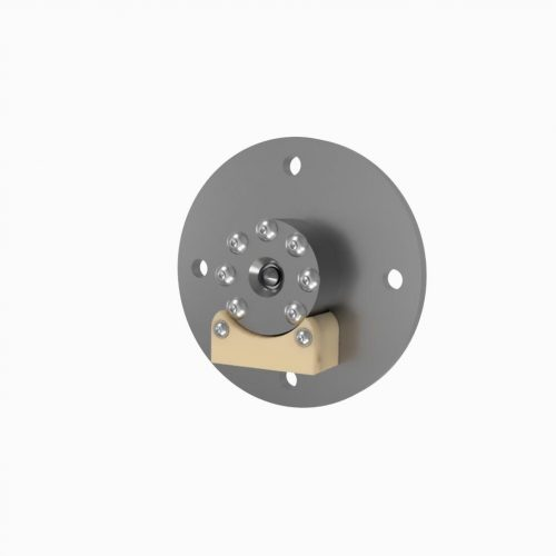 AIS-AHT1 Micro Anode Layer Hall Thruster - Thruster Head Render