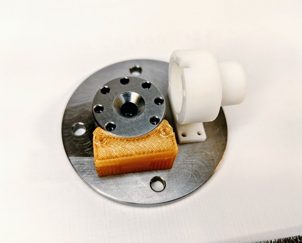 AIS-EHT1 Micro End Hall Thruster - Assembly Fitting with Anode Feed and Hollow Cathode Neutralizer