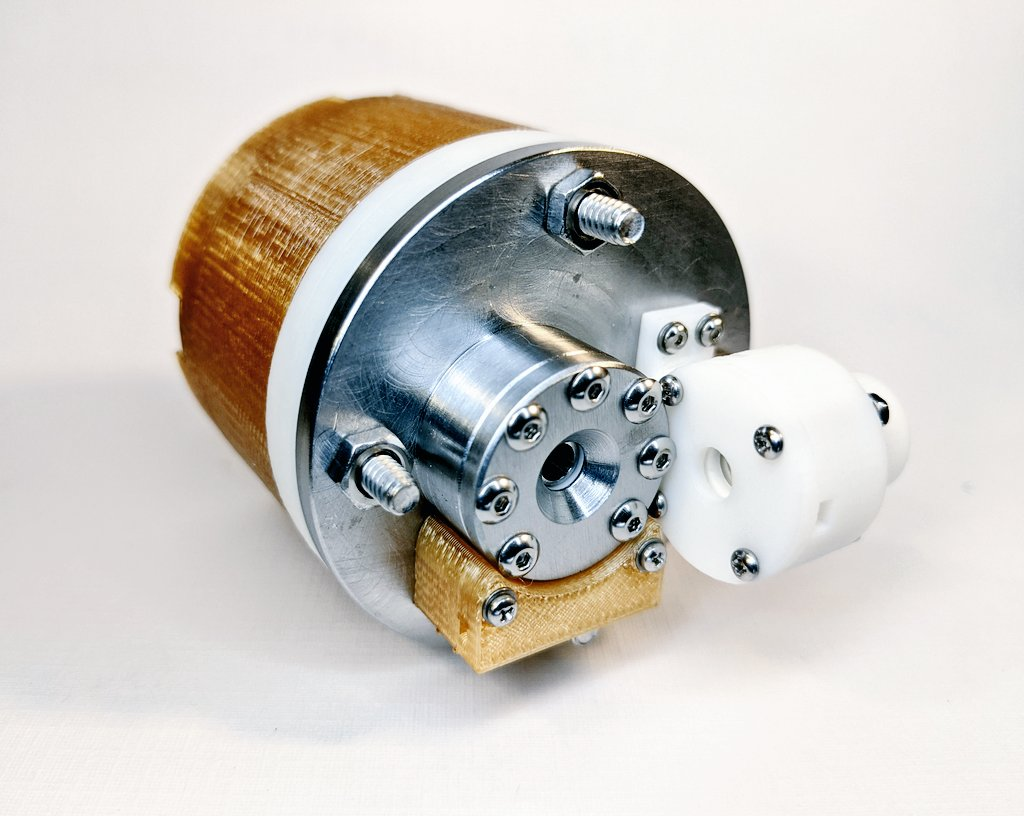 AIS-EHT1 Micro End Hall Thruster - Full Thruster Assembly with Fuel Delivery System 1