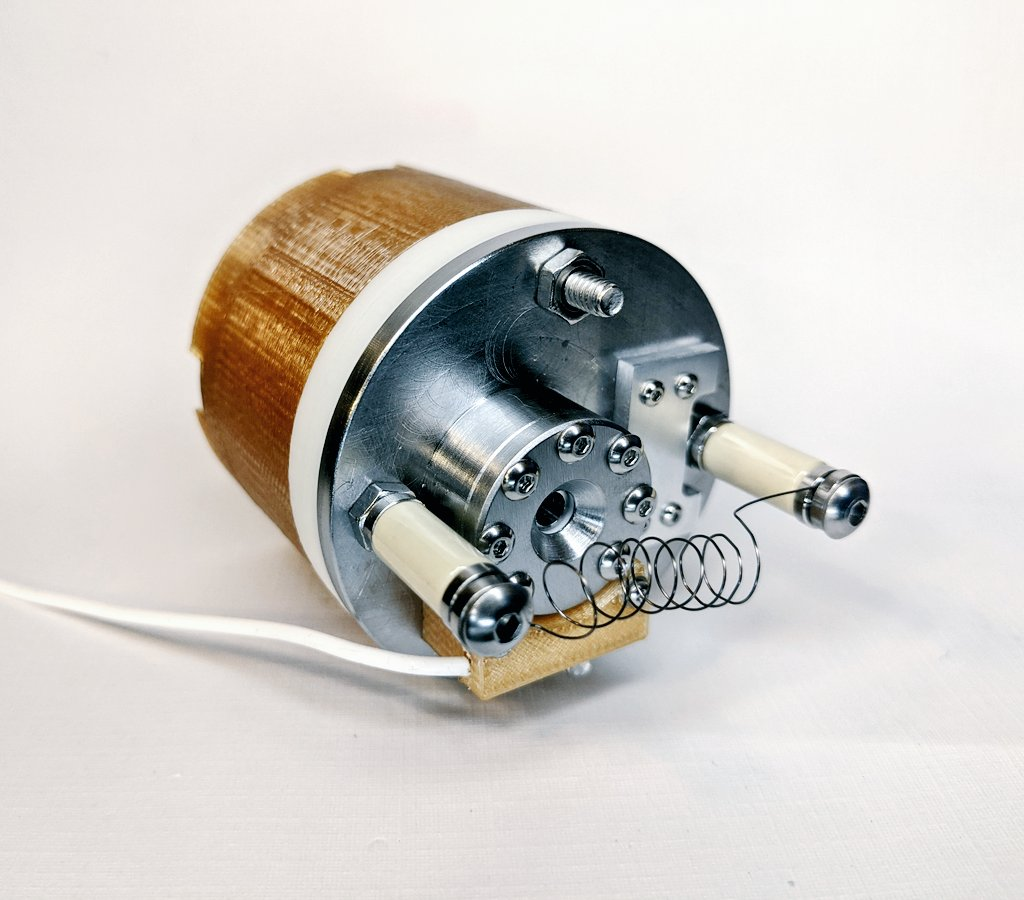 AIS-EHT1 Micro End Hall Thruster - Full Thruster Assembly with Tungsten Filament Neutralizer 1