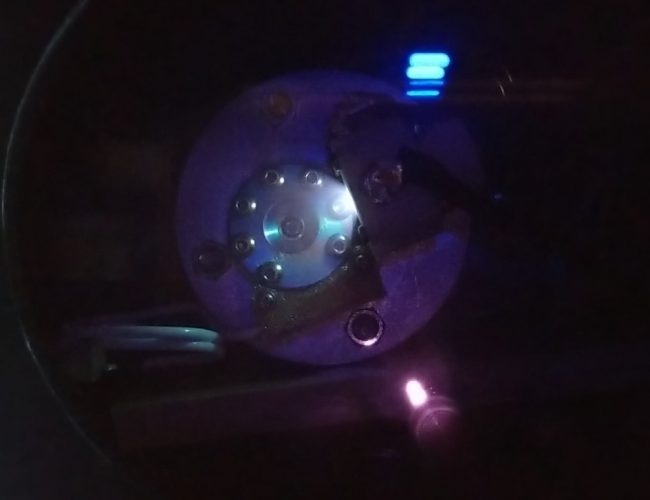 AIS-GDN1 Glow-Discharge Hollow Cathode Neutralizer Ignition Test 1 - Plume 2