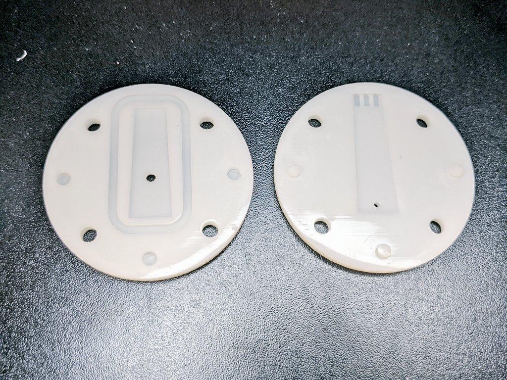 AIS-PFV1 Piezoelectric Fuel Valve 3D Printed Housing 1