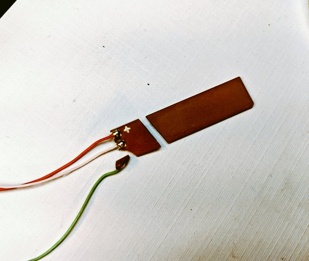 Piezoelectric Bender Element Shattered