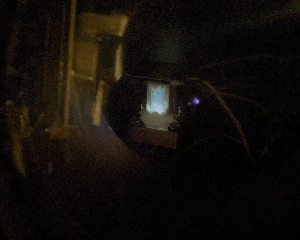 Preliminary Adamantane Glow Discharge Neutralizer Test 3 - Negative Bias Discharge