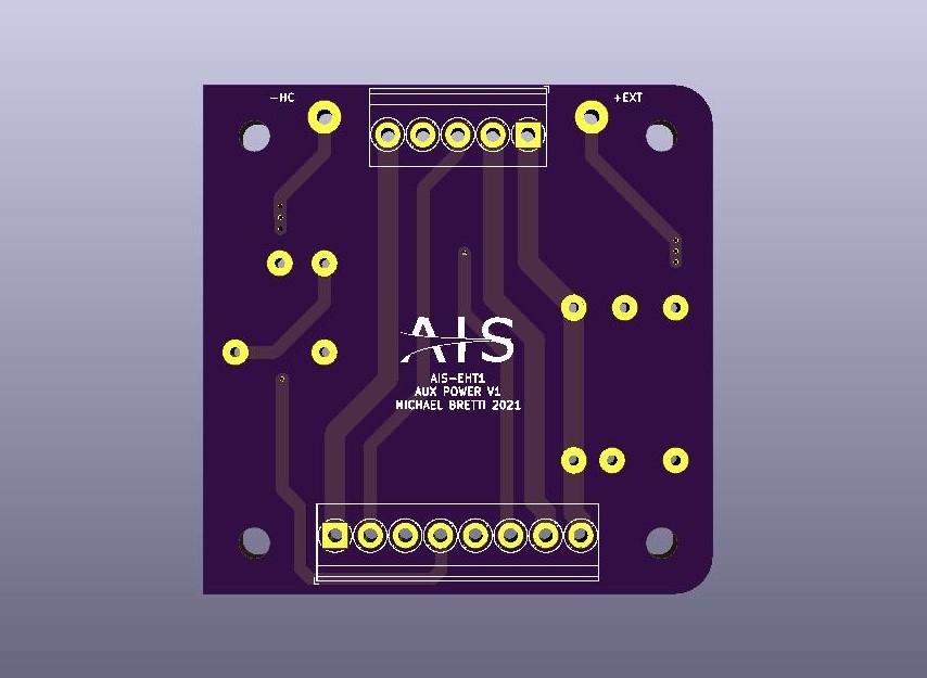 AIS-EHT1 Micro End Hall Thruster Auxiliary Power Board V1