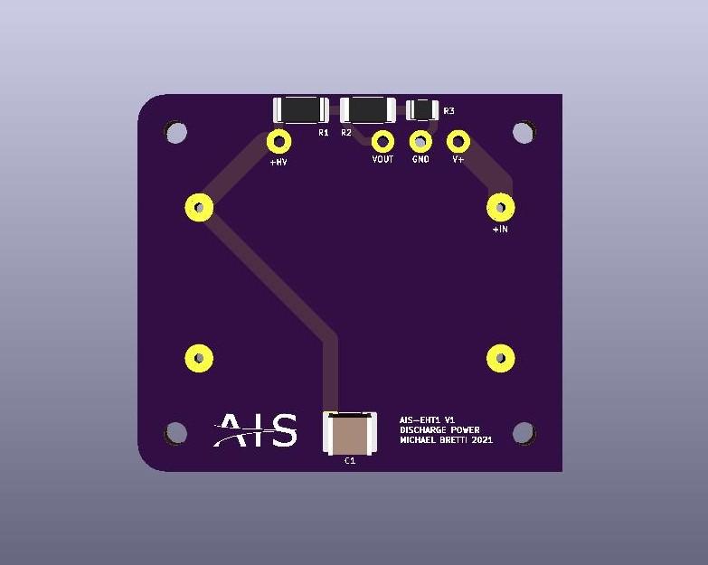AIS-EHT1 Micro End Hall Thruster Discharge Power Board V1