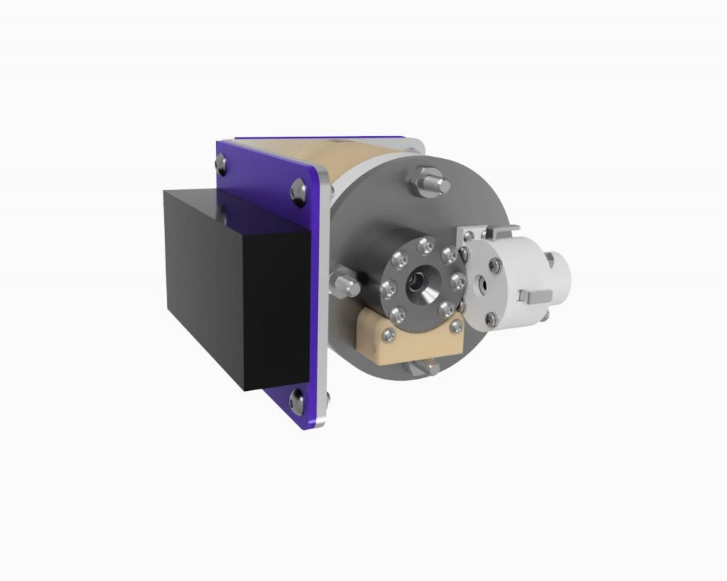 AIS-EHT1 Micro End Hall Thruster Fully Integrated System - Render 2